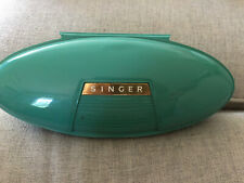 Vintage 1960's Singer Buttonholer Attachment,Green Case, & Manual 489500/489510