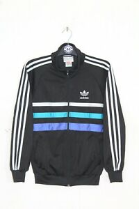 ADIDAS FIRST 90'S VINTAGE TRACKSUIT TOP,JACKET,IAN BROWN,RETRO,SIZE:XS