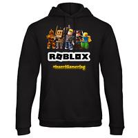 ROBLOX HOODIE HOT - ADD PERSONALISED GAMERTAG. KIDS GIFT COOL GAME SOCIAL