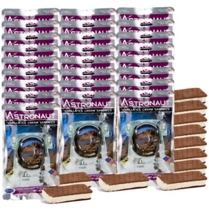 25 pcs. Astronaut Space Food - Vanilla Ice Cream Sandwich  - Astro Nutrition