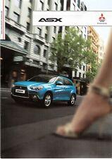 Prospekt / Brochure Mitsubishi ASX 06/2010 mit Preisliste