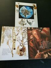 "3- 8"" X 10"" Native American Picture Prints in Lithograph by Dealer"