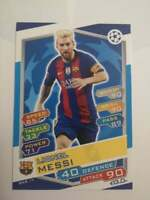 Lionel Messi Topps UEFA Champions League 2016/17 #Bar 17 Barcelona MATCH ATTAX