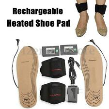 WARMSPACE Shoe Pad 3.7V Rechargeable Electric Heated Insoles Keep Foot Warm HOT