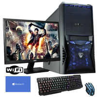 QUAD CORE Desktop Gaming PC Computer Bundle 3.6GHz 16GB 1TB dp202