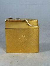 Damen-Feuerzeug / Gasfeuerzeug, vergoldet, SILVER MATCH