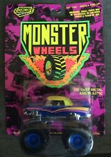 ROAD CHAMPS MONSTER WHEELS DIE CAST METAL & PLASTIC NO. 1149;SHIPS FAST