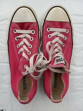 Converse All Star Womens Size 7 Hot Pink Sneakers Tennis Shoes