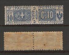 [ZZA_121]  ITALIA  Regno  -  1914-22   :  Pacchi postali :  c. 10    * MLH