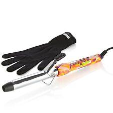 Amika 25mm 1 Inch Digital Titanium Clip Curler Iron w/ Glove NIB!
