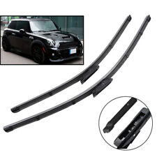 2Pcs Front Windshield Wiper Blades For Mini Cooper R56 Hatch 2012 2013 Rubber