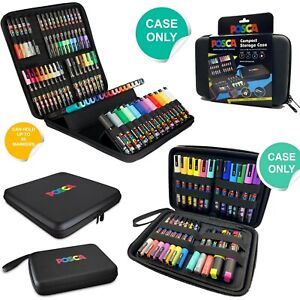 UNI Posca Small or Large Storage Case for Brush Markers Art Pens Stationery Bag