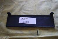 FIAT 131 132 FIAT 124 125 ->1983 PORTATARGA ANTERIORE IN PLASTICA NERA