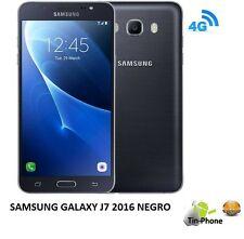 Telefono Movil SAMSUNG Galaxy J7 2016 Color NEGRO SMARTHPHONE LIBRE. 16GB, 4G