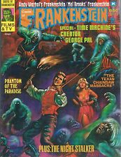 Castle of Frankenstein #25 Time Machine Texas Chainsaw Warhol Frankenstein 1975