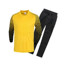 Soccer Goalie Uniform Goalkeeper Long Sleeve Jersey with Pant Adult Asian Size