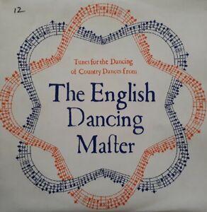 Orange And Blue-The English Dancing Master Signed Vinyl LP.1977 EFDSS PLA 2.