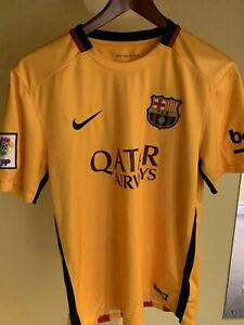 Barcelona 2015 2016 away shirt Nike soccer jersey size medium Barca