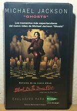 """Michael Jackson // """"Ghosts"""" - VHS // Promo Versión Exclusiva Española  -  ÚNICO"""