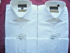"""Thomas Pink 15""""Long Imperial Classic 200's BNWT Double Cuff 35.5"""" 2 Mens Shirts"""