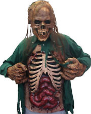 Morris Costumes Grotesquely Realistic Open Your Shirt Latex Gore Chest. TA332