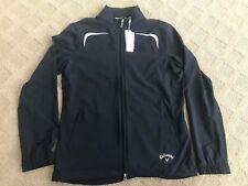 NEW Golf Callaway Long Sleeves XL Full Zip Wind Jacket Navy CW25260 Zipper thin