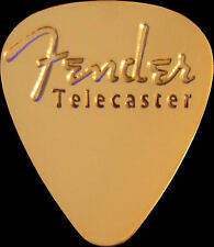 Fender Telecaster Brass Guitar Pick