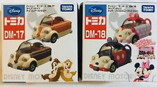 Takara Tomy Disney Motor - Mickey Mouse Minnie Set Tomica Diapet DM-18 DM-17