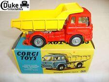 CORGI 494 BEDFORD TIPPER TRUCK - VERY GOOD in original BOX