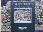 LIBERTY WOODEN JIGSAW PUZZLE~CHRISTMAS TREE~755 PIECES~BEAUTIFUL