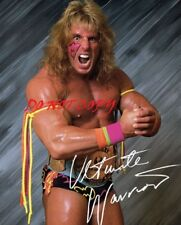 ULTIMATE WARRIOR - WWF - WWE - AUTOGRAPHED PICTURE SIGNED 8X10 PHOTO RP