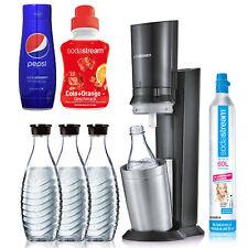 SodaStream Crystal 2.0 + 3 Karaffen + Zylinder + Bonus 2x Sirup I Wassersprudler
