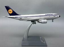 1:200 24CM Aviation Lufthansa AIRBUS A310-200 Passenger Airplane Diecast Model