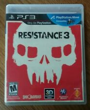 Resistance 3 (Sony Playstation 3 PS3, 2011) *Tested*