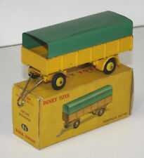 BACHÉE REMORQUE METAL. DINKY TOYS. 1 / 43.70. MADE IN FRANCE. CIRCA 1950.
