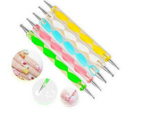 5 pz SPOT DOTTER DOTTING FRENCH NAIL ART PEN