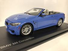 BMW M4 Convertible F83 Yas Marina Blue 1:18 Escala Paragon 2339612