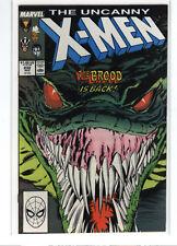 Uncanny X-men #232 Chris Claremont Storm Wolverine Colossus Rogue 9.6