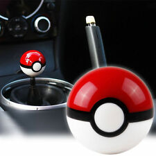 Auto Car Vehicle Pokemon Pokeball Shape Gear Sticker Shift Knob Shifter Handle