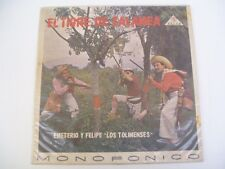 LOS TOLIMENSES - EL TIGRE DE ZALAMEA - ZEIDA mono LP