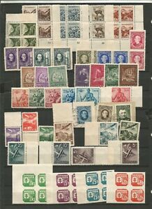 Slovacchia Slovensko francobolli anni 1940 nuovi serie varie vedi foto MNH**