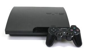 Sony Playstation 3 PS3 160GB Console includes Accessories - Black + 4 Free Games