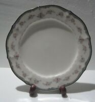 "Noritake Ivory China 7327 Traviata Set of 4 Bread & Butter Plates 7"" JAPAN"