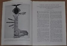 1939 FLYING OVER EUROPE magazine article, Pre WWII, AIRLINES, services, scenery