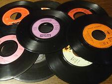 lot 25 disques vinyl 45 tours pour déco soirée a thème disco rock'n'roll pop