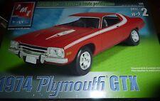 AMT 1974 Plymouth GTX 1/25 MODEL CAR MOUNTAIN KIT FS