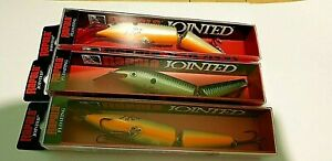 Rapala j-13 jointed lure Bleeding Original Shad VERY RARE COLLECTABLE bass pike