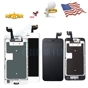 For iPhone 6 Plus Screen Replacement LCD Complete Touch Digitizer Button Camera