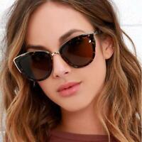 Retro Vintage Eyewear Oversized Women Fashion Designer Sunglasses Glasses
