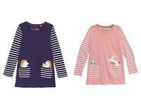 EX-BODEN GIRLS ANIMAL IN POCKET TUNIC PINK BUNNY - HEDGEHOG  BNWOT AGES 2-12